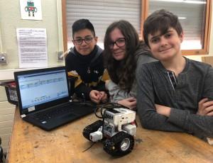 construint robots de LEGO